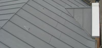 Zinc roof installation and repair Dublin